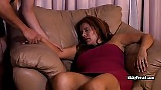 Juicy older redhead is having a surprise during the time that...
