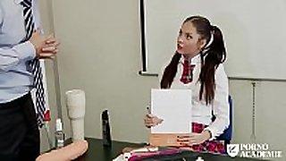 Porno academie - romanian dark brown hair hair hair school BBC doxy ...