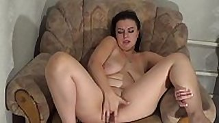 Fingerfucking in leather lingeria